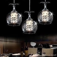 modern pendant lamps led crystal glass ball chandelier light creative decoration ball pendant lights 1 3 heads grey brown bar tea home lamp green pendant