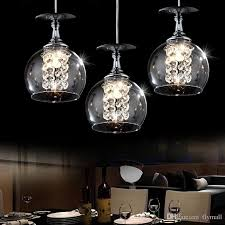 modern pendant lamps led crystal glass ball chandelier light creative decoration ball pendant lights 1 3 heads grey brown bar tea home lamp green pendant