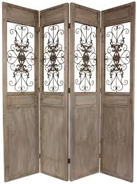 Diy Room Screen Interior Excellent 3 Panel Folding Glass Arched Room Dividers