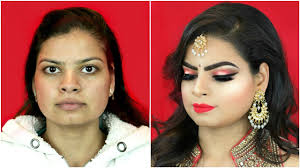 indian bridal makeup step by step makeup for beginners hindi shruti arjun anand