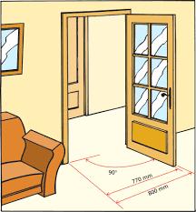 Dimension Porte D Entree Standard Id Es Inspir Es Pour La Maison Avec  Acces4 393 Et ...