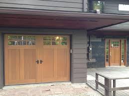 craftsman garage doorsMission Style Makeover  Craftsman  Exterior  Cleveland  by