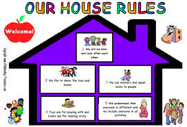 Play Rules Rules Charts Should Be In The Living Room And