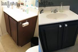 bathroom cabinet redo. Unique Black Bathroom Vanity Antique Cabinets For Any At Painting | Best References Home Decor Govannet Black. Cabinet Redo