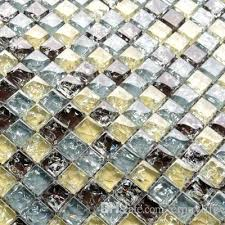 light grey crystal mosaic ice ed glass mediterranean tile background wall porch toilet building material jigsaw and postbag mosaic flooring