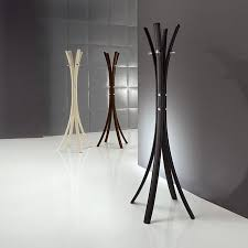 modern coat stand new italian rack upholstered in faux leather 62 171 cm intended for 16