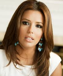eva longoria parker long straight formal um brunette auburn