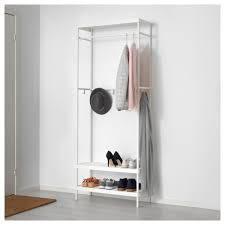 Coat And Shoe Rack MACKAPÄR Coat rack with shoe storage unit IKEA 7