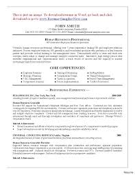 Sample Human Resources Resume Hr Safety Resume Human Resources Sample Related Free Examples 100a 74