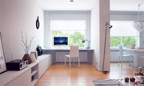 creative home offices. Creative Home Offices. Lively Workspaces : White Built In Office Desk Offices