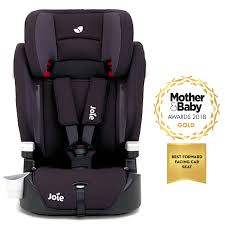 joie elevate 2 0 group 123 high back booster car seat two tone black