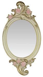 Casa Padrino Jugendstil Polyresin Wandspiegel Rosen Creme Gold 254 X H 481 Cm Barock Jugendstil Möbel