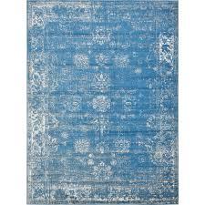 unique loom sofia blue 9 x 12 rug