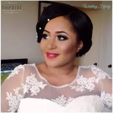 nigerian bridal hair makeup wedding feferity 0026