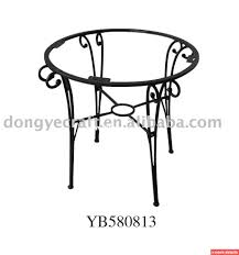 table frame round table part wrought iron table base dining table frame