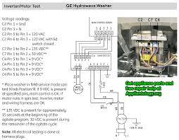 ge hydrowave washer inverter motor test the appliantology ge hydrowave washer inverter motor test