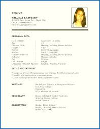 example of resume names resume skills and interests examples sample resume name address city