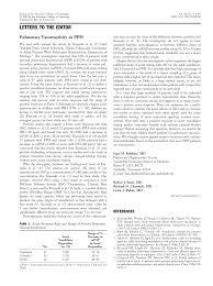 Pulmonary vasoreactivity in PPH