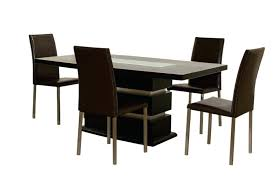 contemporary kitchen tables for small spaces round glass table dining