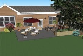 square patio designs. Modren Square On Grade Patio With Square Patio Designs P