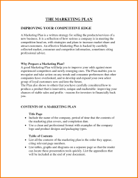 Marketing Business Marketing Plan Template Proposal Samples