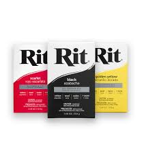 Rit Color Chart Rit All Purpose Powder Dye 1 1 8 Ounce