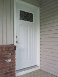 front door trimFront Door Trim After