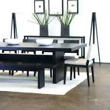 black table with bench dining room table set with benches excellent dinner room table set black