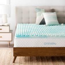 memory foam bed topper. Cal King Convoluted Gel Swirl Memory Foam Mattress Topper Memory Foam Bed Topper