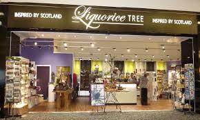 scottish gifts at edinburgh airport visit liquorice tree