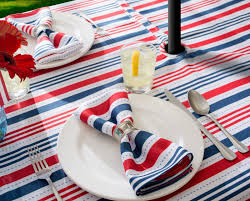 wonderful round outdoor tablecloth with umbrella hole uk