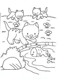 A Imprimer Chat 1 Coloriages De Chats Coloriages Enfants Biboon