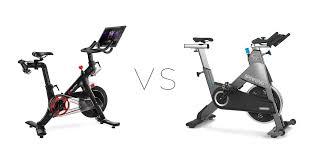 peloton vs the spinner shift mercial bike