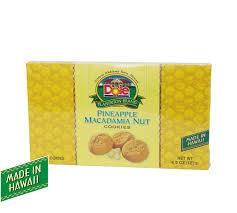 pineapple macadamia nut cookies