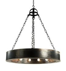 for fourteenth colony um ceiling mount in natural steel at foundry lighting