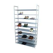 Home Basics 10 Tier Coated Non Woven Shoe Rack Shoe Rack Pair Shoe Rack Yoyo S Tier Adjustable Storage Organiser 60