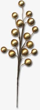 Decorative Metal Balls Decorative Metal Balls Golden Tree Decorative Material 54