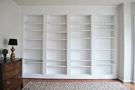 new ikea billy built in shelves header