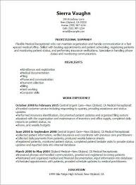 Receptionist Resume Mesmerizing 40 Luxury Front Desk Receptionist Resume Images