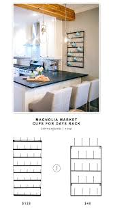 magnolia market cups for days rack for 128 vs mygift 5tier metal wall rack