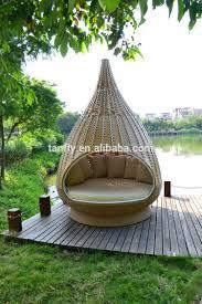 rattan nestrest with Outdoor woven wicker water drop nest