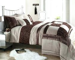 chocolate brown duvet covers large size of brown duvet brown amp natural colour stylish ruffled sequin