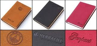 custom leather binder top mini logo notebook luxury black planner binders for business custom leather binder