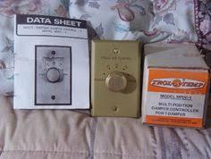 ge tfrcp pull out fuse junction breaker box v trol a temp damper controller 1 damper multi position ajunkeeshoppe webstore