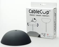 Nordic Blends Cable Cup Perfect Plafondkapje Voor Je Hanglamp