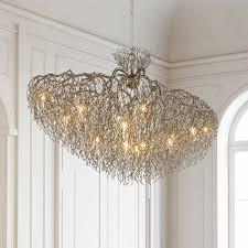 brand van egmond hollywood conical oval chandelier