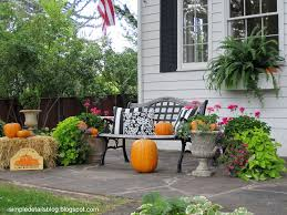 Outside Fall Decor 58 Outdoor Autumn Decorations And More Outdoor Fall Decorations