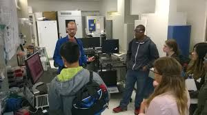 ing stem students gain insight to microbial metabolomics enigma csueb sponsored stem career awareness day ing high school students view an active demonstration of