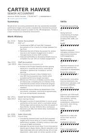 accoutant resumes senior staff accountant resume sample samples primary representation
