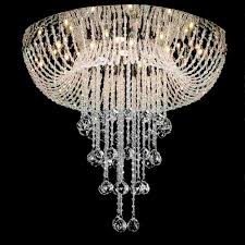 full size of lighting surprising modern crystal chandelier 1 0001090 24 caux foyer mirror stainless steel large